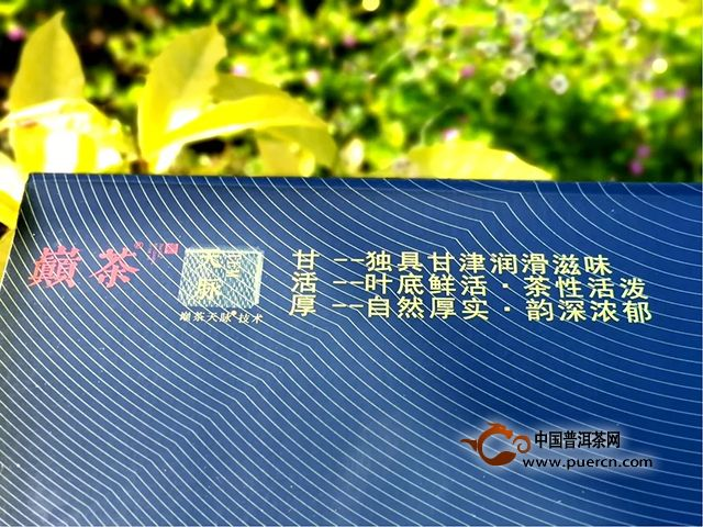 感动人心的巅茶,国家专利茶品天脉技术熟茶4.0代绽放上市!