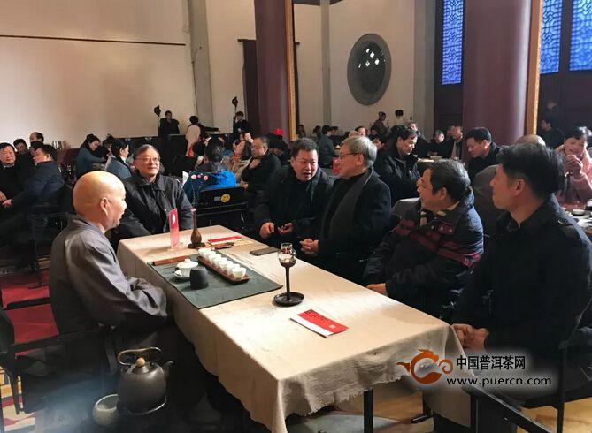 云林茶会 • 景迈山茶推介会在杭州灵隐寺举行