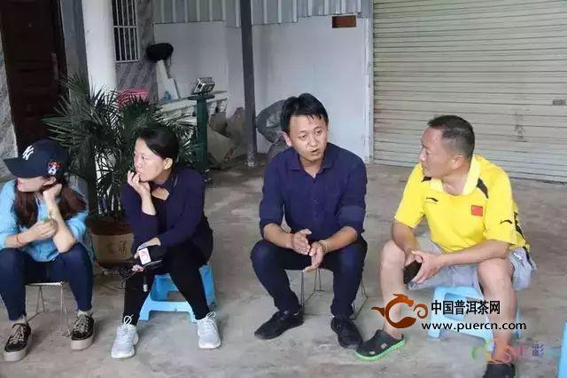 """云南""""三个一批""""调研走进勐海茶厂  好茶致富有""""大益"""""""