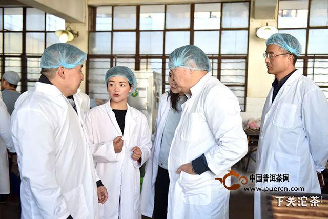 下关沱茶集团公司迎来蒙古国外宾考察交流