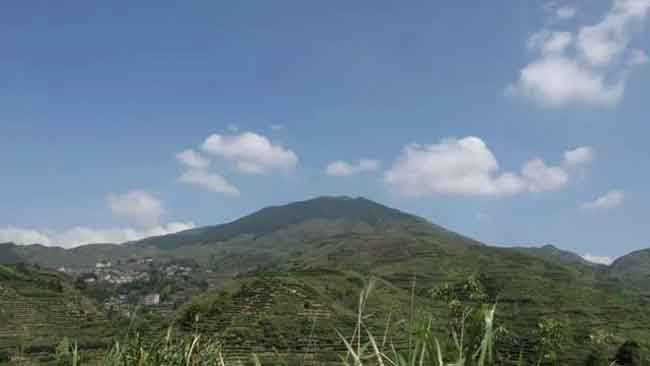 安溪12座名茶山之安溪同发山风景图片,铁观音优质产地