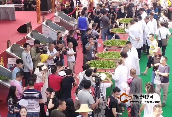 西双版纳第十届易武斗茶大会,金奖曼秀茶拍卖107万