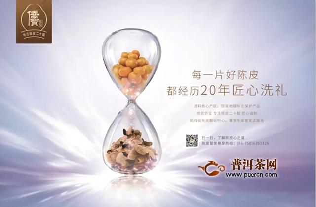 中国国际茶业博览会——侨宝让世界认识新会陈皮