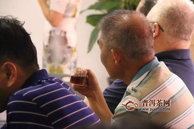 2019年八角亭紫印古树圆茶品鉴会在郑州成功举办