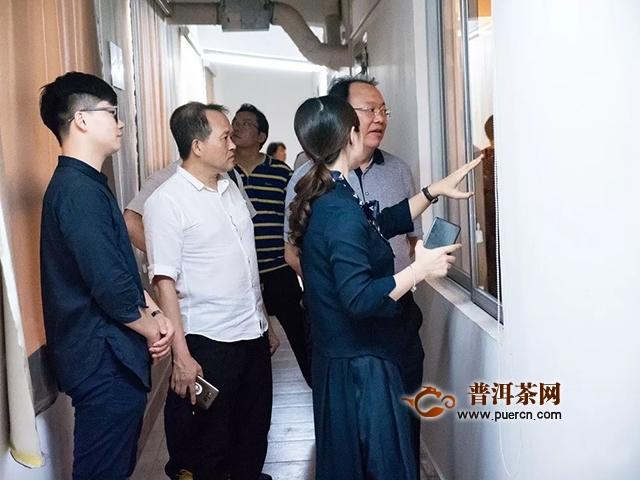 云南省元江县委、县政府领导一行到访双陈普洱