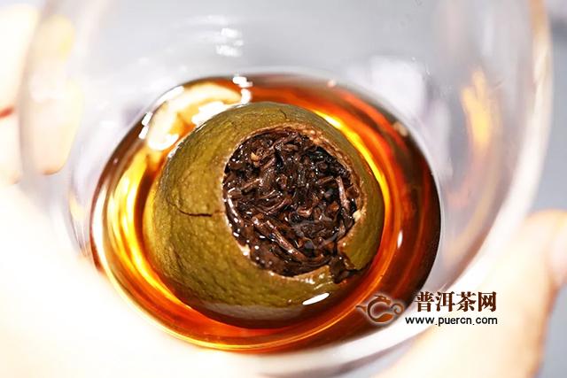 老同志壹柒柒伍紫标礼盒版柑普茶限量呈现