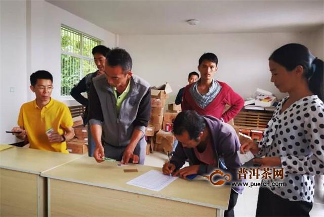 景东县茶叶生产加工技术培训工作全面展开