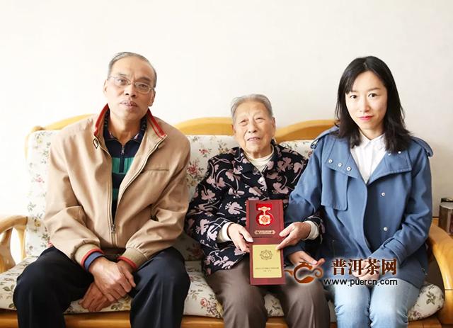 中茶云南公司党委、工会走访慰问离退休老干部老同志
