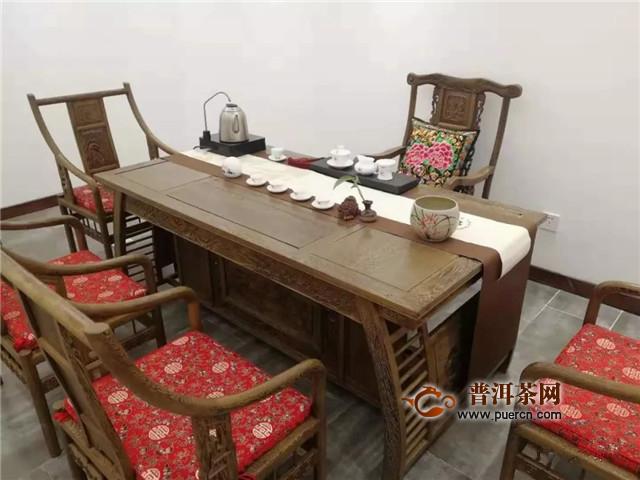 六大茶山代理商:沈阳墨茗轩茶文化体验会馆开业