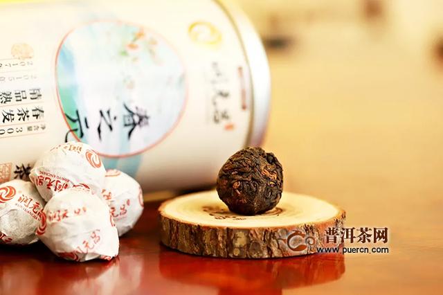 润元昌小巧手工沱,简单享好茶