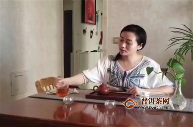 """参赛作品展播四""""健茶家庭杯""""双陈普洱冲泡大赛"""