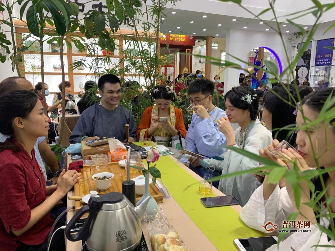 深圳茶博会圆满落幕,中吉号人气爆棚,好茶不打烊!
